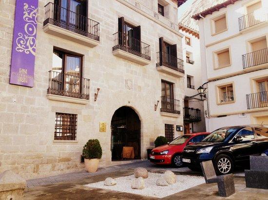 Hotel Palacio del Obispo: Fachada del hotel