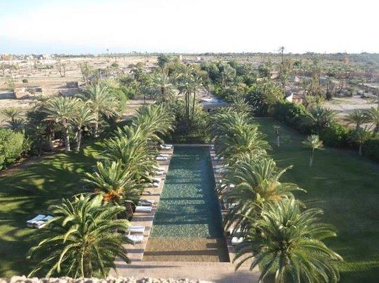 Ksar Char-Bagh : La piscine