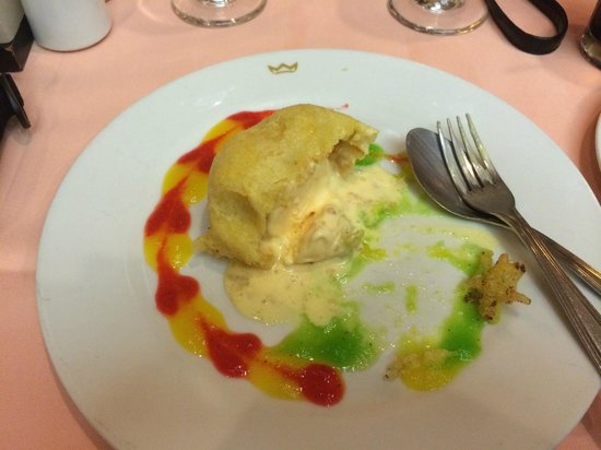 Hotel Riu Caribe: fried ice cream from Asian restaurant