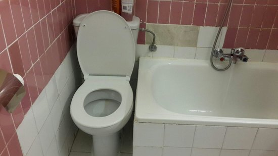 HOSTAL PEREDA: Awful toilet placing