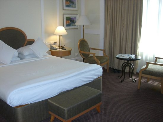 The Imperial Palace: The Bed & sitting Area of the Room