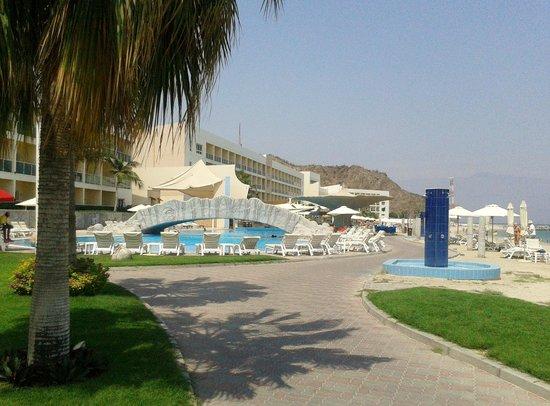Radisson Blu Resort Fujairah: passeggiata