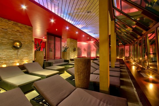 Westfalen Therme am Vital-Hotel: Asia Ruhe Lounge mit Dachterrasse