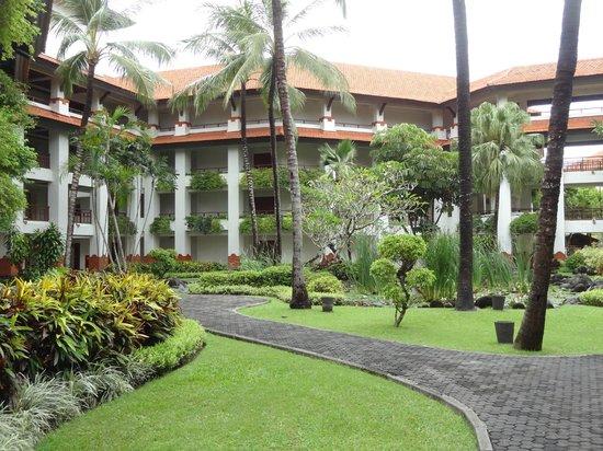 Grand Hyatt Bali: Binnentuin