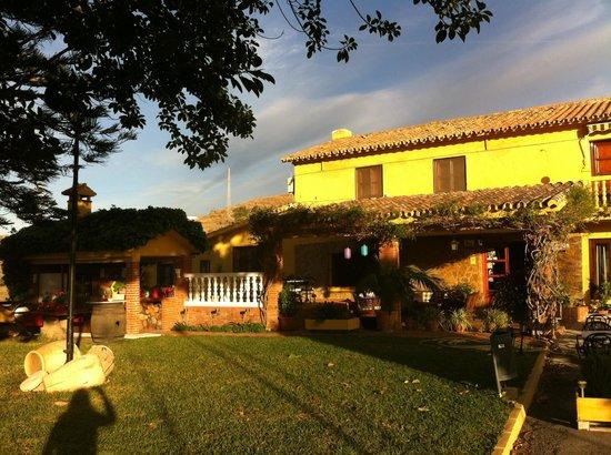 Hotel Rural Cortijo Amaya: Terras aan voorkant