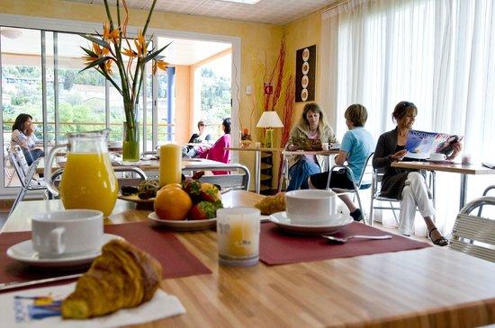 Le Virginia : Espace petit-déjeuner
