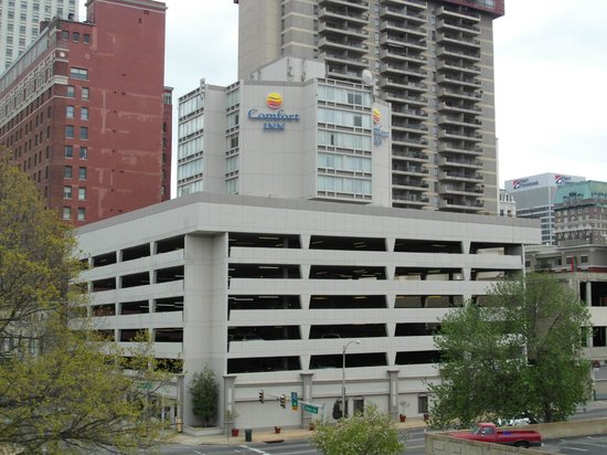 Comfort Inn Downtown: The hotel