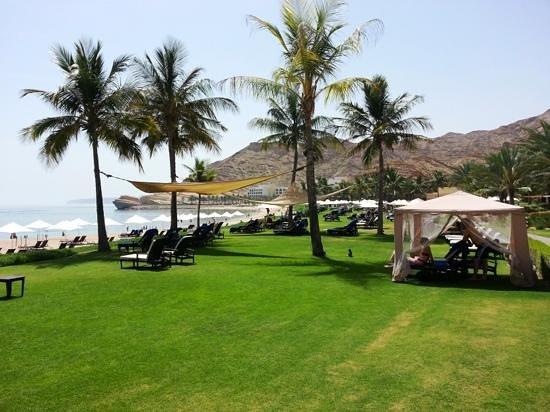 Shangri La Barr Al Jissah Resort & Spa-Al Bandar : Nice beach view