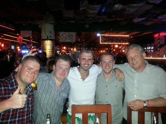good times at Carlos'n Charlie's