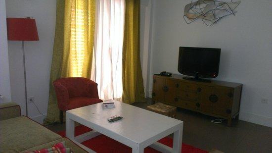 Infantes Singular Apartments: Salón Golden