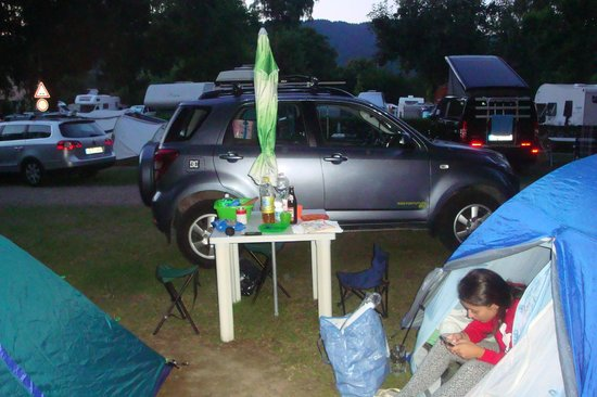 Camping am Möslepark: Piazzole