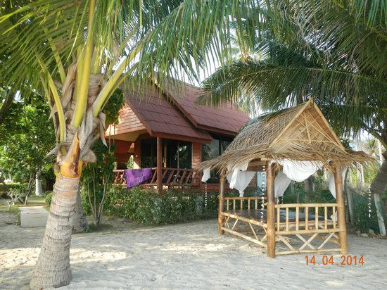 Morning Star Resort : from the beach - looking at room 206