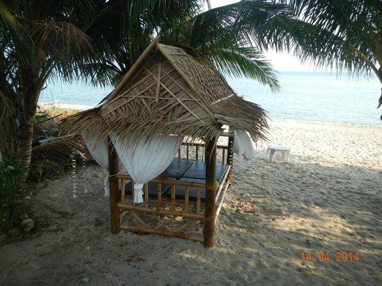 Morning Star Resort : Outside lounger