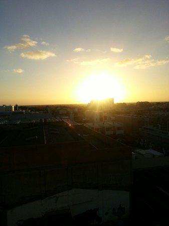 iStay Precinct: Sunset from the balcony