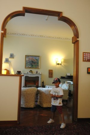 Hotel David : Reception area