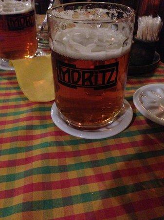Moritz microbrewery : Moritz Bier