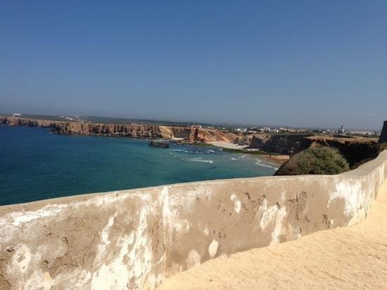 Ponta da Bandeira Fort : Vista desde la fortaleza