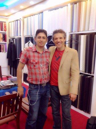 "Surin Beach Tailor Eleganza Fashion: Eleganza fashion With happy customer~""Mr. Mark"""