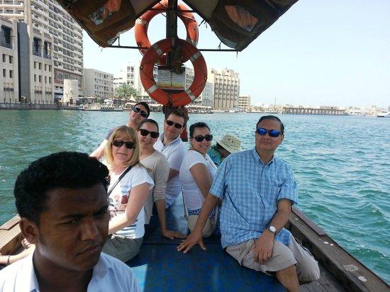Bur Dubai Abra Dock : Cool breeze