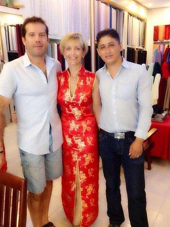 Surin Beach Tailor Eleganza Fashion: Eleganza fashion Beautiful Chinese dress