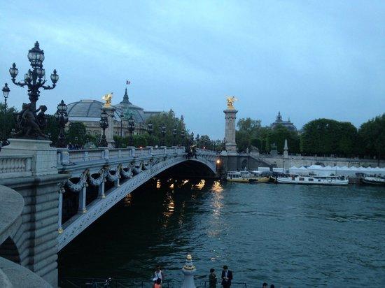 Pont Alexandre-III : Puente de Alexandre