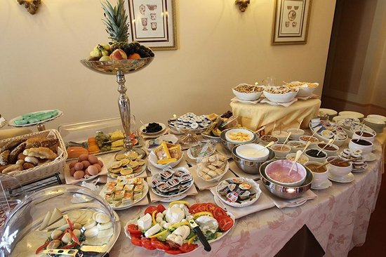 Villa Marsili: Amazing breakfast buffet - the best I have tasted in Italy (seriously)
