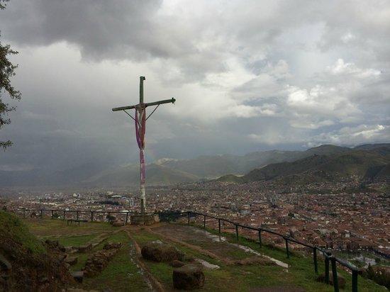 Sacsayhuamán: croix