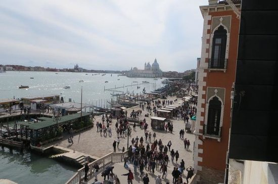 Hotel Danieli, A Luxury Collection Hotel : View from Bedroom Window... St Marks Square