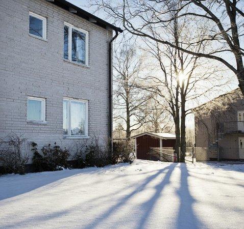 Hammaro, Suède: Wintertime hostel