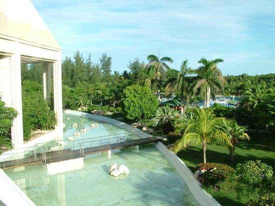 Blau Varadero Hotel Cuba: Our room view across the hotel