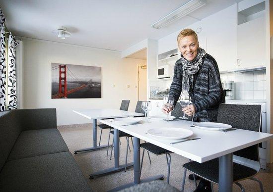 Hammaro, Suède: Köket