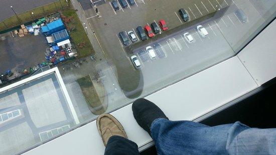 AC Hotel by Marriott Bella Sky Copenhagen: 18th floor window is floor to ceiling