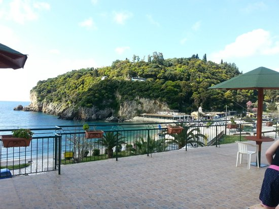Apollon Hotel: View from the terrace