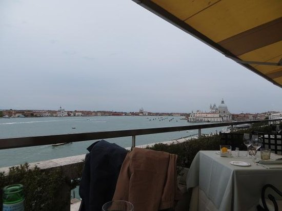 Restaurant Terrazza Danieli: View from our Corner Table