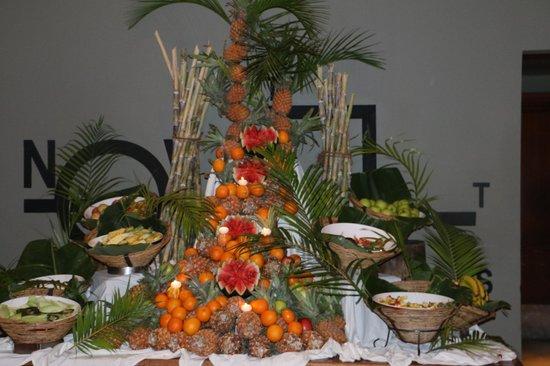 Mauricia Beachcomber Resort & Spa : le buffet