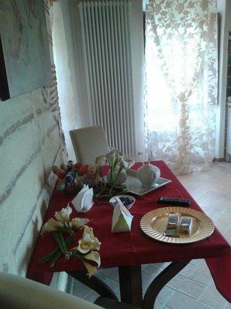 B&B Medieval House: La II sala colazioni