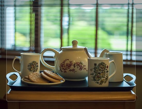 Crossriver Bed & Breakfast : Tea and Coffee served upon arrival