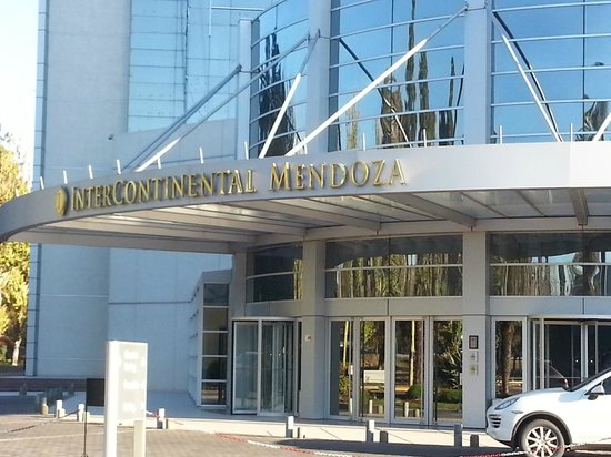 InterContinental Mendoza: Ingreso al hotel