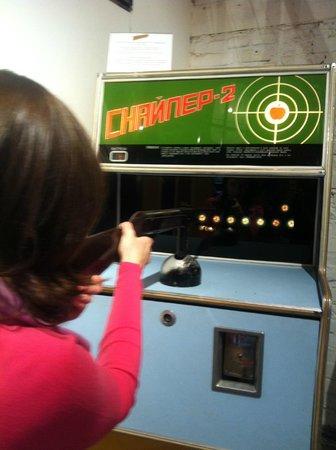 Museum of Soviet Arcade Machines : Снайпер