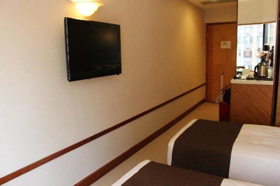 Island Pacific Hotel: Room corridor