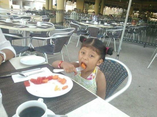 Krystal Puerto Vallarta : El desayuno