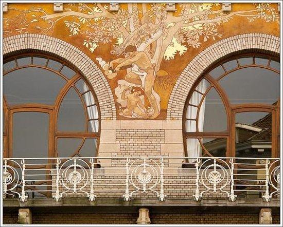 Arkadia: Visite de l'hôtel Ciamberlani de Paul Hankar