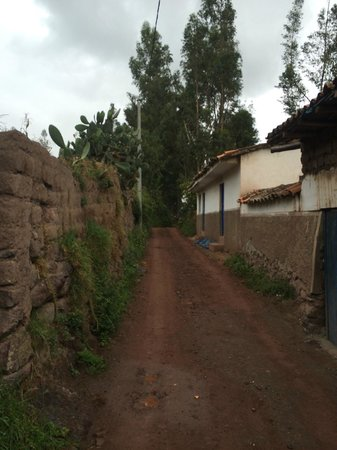 Salinas de Maras: vers la route d'Urubamba