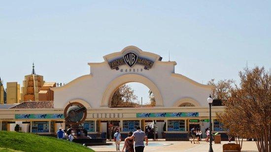 Parque Warner: Entrada