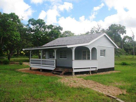 Commewijne District, Suriname: lodge at Bakkie (Reynsdorp), Commewijne