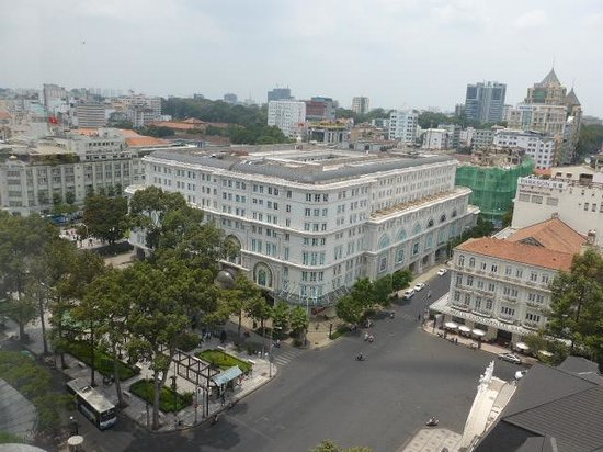 Caravelle Saigon : The view from our room