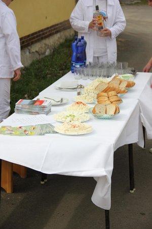 Presov Region, Slovakia: Home made cheese