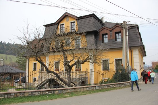 Presov Region, Slovakia: Manor-house Hanus
