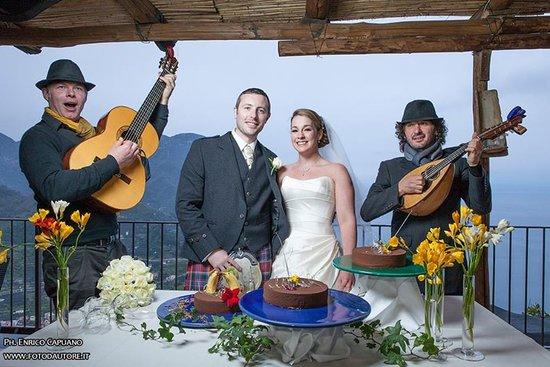 Wagner Day Tours: matrimonio a Ravello fotografo Enrico Capuano wedding planner Mario Capuano