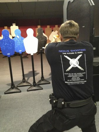 Nexus Shooting Range: Wednesday Night ~ Competitive Shooting Class